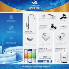 ispring rcc7 wqa gold seal certified 5 stage reverse osmosis