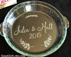 personalized pie plate designer engraved kitchen by gonegirly on etsy