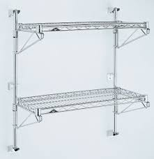 Wall Mounted Wire Shelving Super Erecta Metroseal 3 Antimicrobial Shelving By Intermetro