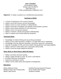 resume summary of qualifications for a cna home health aide job description template jd templates hire