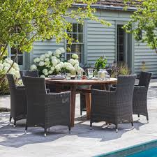 farmhouse table company outdoor drinks cooler table