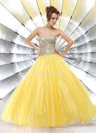 beautiful graduation dresses daffodil satin and tulle gown graduation dress with sequins