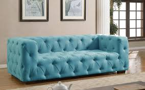 blue tufted sofa 56 with blue tufted sofa jinanhongyu com