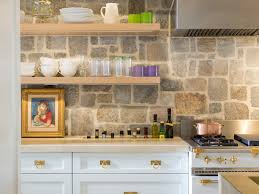 Stone Veneer Kitchen Backsplash Superior Cabinets Isllighting Eat In Kitchen Area Rug Renovation