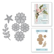 go flowers shapeabilities cinch and go flowers iii etched dies 3d