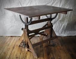 Wood Drafting Table Antique Drafting Tables Foter