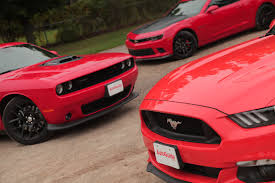 cars like a mustang 2015 ford mustang vs chevy camaro ss 1le vs dodge challenger hemi