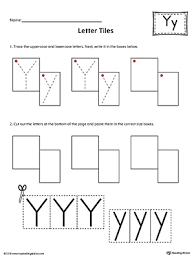letter y tracing and writing letter tiles myteachingstation com