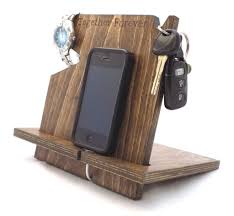 wooden personalized gifts men s gifts wood iphone stations palmetto wood shop
