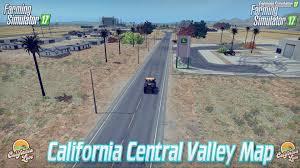 california map fs15 california central valley map v2 1 for fs 17 fs 17 mods