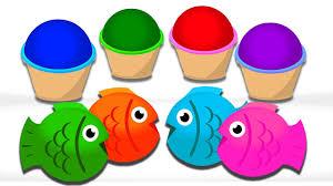 mega gummy bear crying play doh squishy fish toys finger family