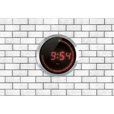 Grande Horloge Murale Pas Cher by Horloge Murale Digitale Led Pile Gallery Of Horloge Bureau Murale