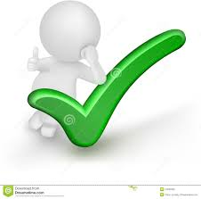 Free Green 3d Man Showing Thumbs Up With Green Check Mark Over White Stock