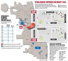 Chicago Neighborhood Crime Map by Cops Targeted Chicago U0027s Most Violent U0027beat U0027 So Crime Moved Next