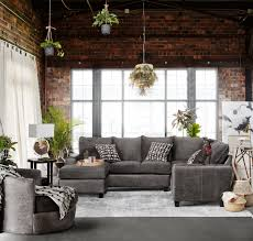 Livingroom Chaise Brando 3 Piece Sectional With Modular Chaise Smoke Value City