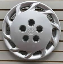 1999 toyota camry hubcaps toyota camry hubcap 14 ebay