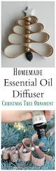 homemade essential oil diffuser christmas tree ornament happy