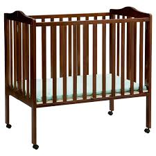 Solid Wood Mini Crib by Mini Crib Dimensions Homesfeed