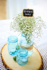 jar centerpieces for weddings jars
