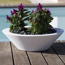 modern bowl large outdoor garden planter homeinfatuation com