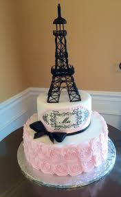 decoration theme paris sweet 16 paris theme cake by icing on the cake cakes pinterest