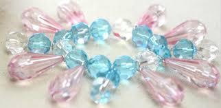 crystal charm bracelet beads images Easy tutorial on making crystal bead charm bracelet for women jpg