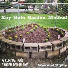 keyhole garden bed method a compost and garden bed in one hometalk