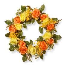 artificial wreath orange 20 national tree company