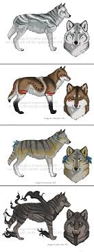 adoptable wolf designs for sale sold by natsumewolf on deviantart