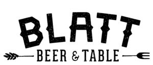 blatt beer and table menu blatt beer and table flagship commons