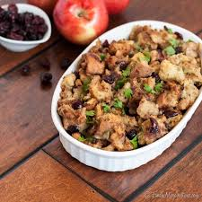 Crock Pot Dressing For Thanksgiving Slow Cooker Cranberry Apple Stuffing The Marvelous Misadventures
