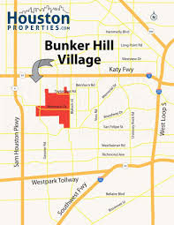 Real Estate Map 4 Key Bunker Hill Village Houston Real Estate Trends