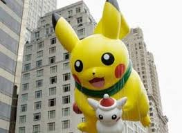 thanksgiving parade a feast to the pikachu is there