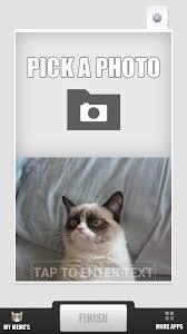 2 Picture Meme Generator - com grumpy cat meme generator appstore for android