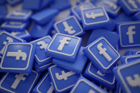 pile of 3d facebook logos photo free download