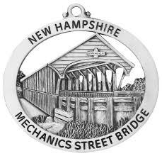 mechanics covered bridge ornament