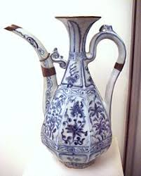Chinese Blue And White Vase Blue And White Pottery Wikipedia