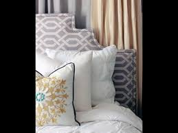 Upholstered Headboard King Diy Upholstered Headboard King Youtube