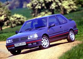 peugeot purple definitely motoring unsung heroes peugeot 309 gti