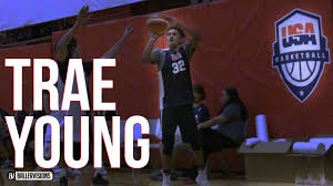thanksgiving basketball camp trae young usa camp full highlights usa basketball junior men u0027s