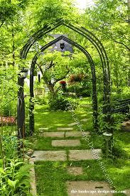 garden arbors in designing gardens