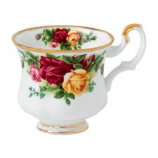 country roses after dinner cup royal albert us