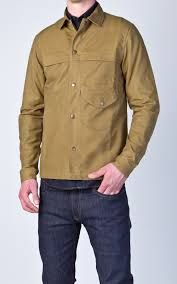 livid jeans kevin field jacket waxed olive field jacket