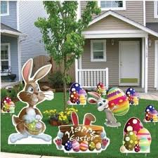 Easter Bunny Yard Decorations by Easter Victorystore Com