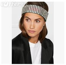 headband men men diamond headband women hair accessories for sale