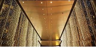 Curtain Fairy Lights by Byb 10m X 3m Led Fairy Lights Curtain Lights String Net Wedding