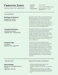 Resume Sample For Office Assistant by Best Resume Templates 2017 Online Resumes 2017