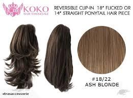 hair bun clip reversible clip in 18 flicked or 14 pon trade me