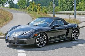 Porsche Boxster Convertible - porsche boxster cayman to be renamed 718 go four cylinder in 2016