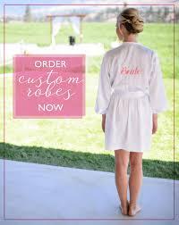 and bridesmaid robes bridesmaid robes bridal robes